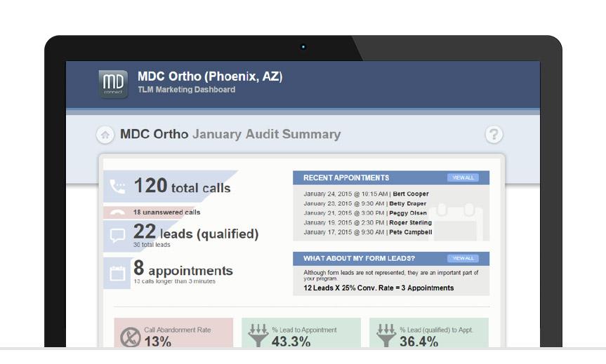 portal-screen-mdc-ortho-audit-summary