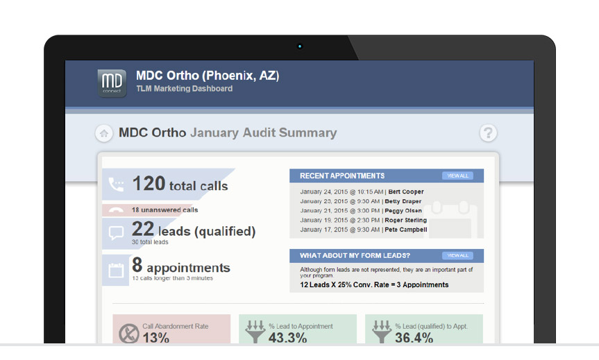 portal-screen-mdc-ortho-audit-summary