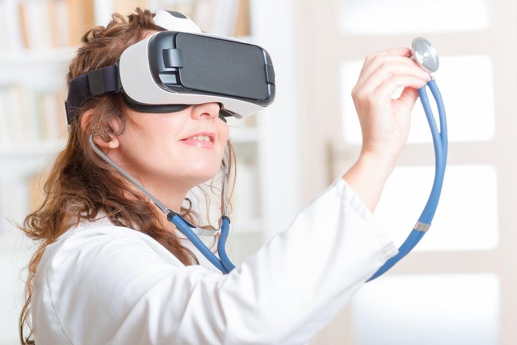 virtual reality augmented reality telemedicine adoption hospitals