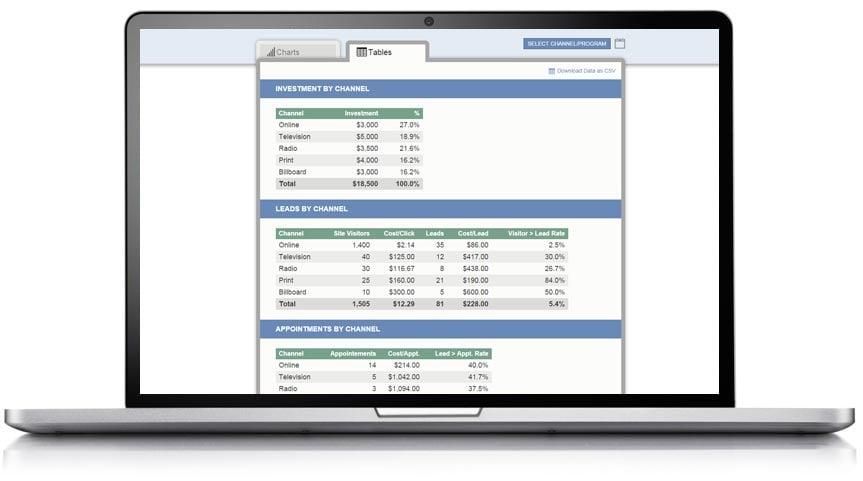Program-Comparison-Screenshot
